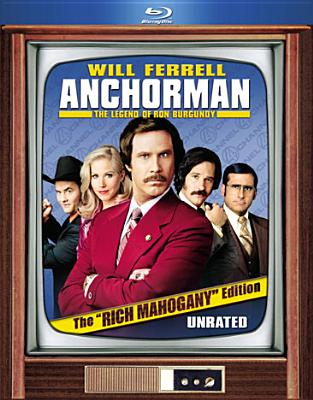 ANCHORMAN:LEGEND OF RON BURGUNDY (RIC BY FERRELL,WILL (Blu-Ray)